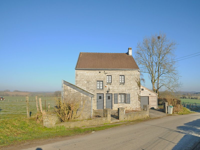 Pleasant fermette with outdoor swimming pool, near Durbuy, vacation rental in Clavier
