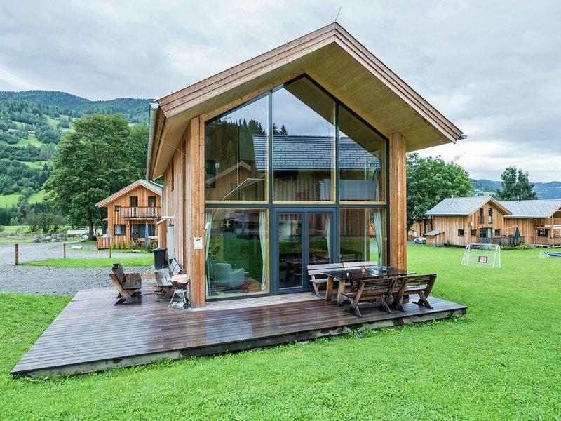 Modern Wooden Chalet in Sankt Georgen ob Murau with Sauna, aluguéis de temporada em Sankt Lorenzen ob Murau