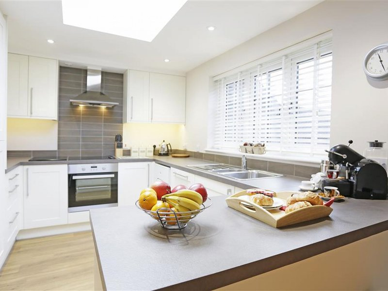 A traditional yet modern house with a magnificent garden and a fantastic view, holiday rental in Brandeston