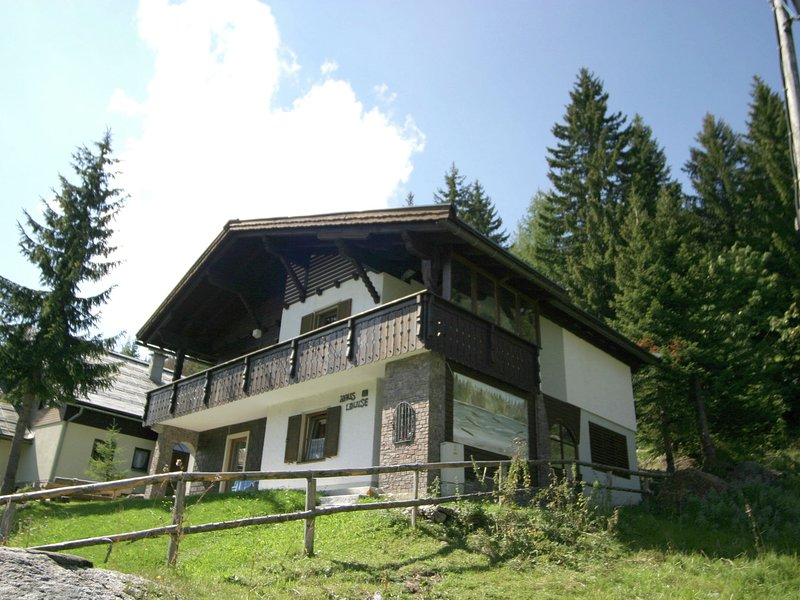 Holidayhouse in a pleasant area in Nassfeld with views of the mountains., holiday rental in Jenig