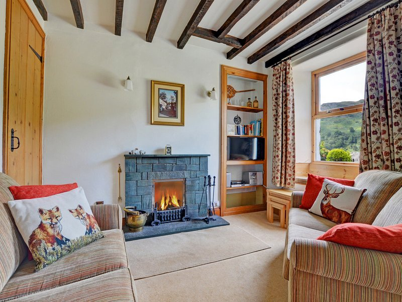 Cosy holiday home in the Lake District with a magnificent view over the surround, holiday rental in Little Langdale