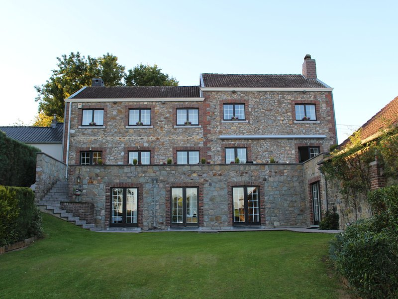 Modern Mansion in Aubel with Private Pool, vacation rental in Limbourg