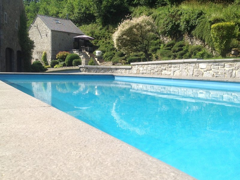 Modern Cottage in Marchin with Swimming Pool, holiday rental in Les Avins