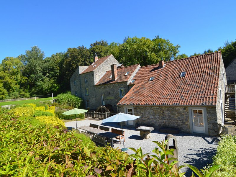 Spacious Mill in Anhée Belgium with Football Court, vacation rental in Maredret