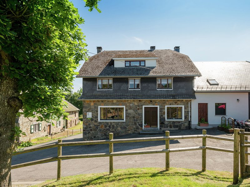 Ideal home for families travelling together, with a large garden, holiday rental in Wirtzfeld
