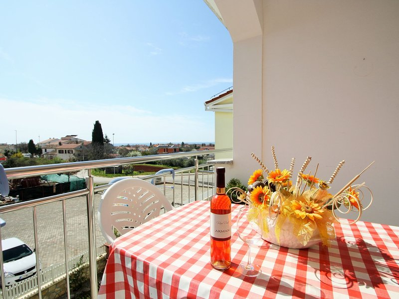 Apartment Peteh ideal for couples with free Wi-Fi, air-condition and parking, vacation rental in Cervar Porat