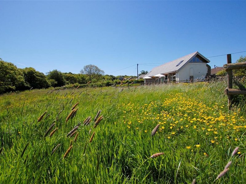 Large, modern farmhouse in Umberleigh on the river Taw, holiday rental in Swimbridge