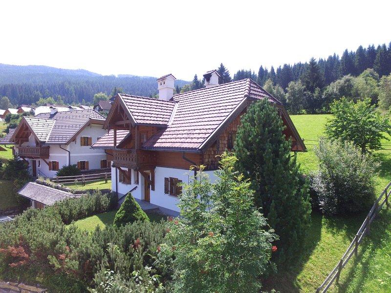 Comfortable Chalet with Sauna near Ski Area in Salzburg, Ferienwohnung in Sankt Margarethen im Lungau