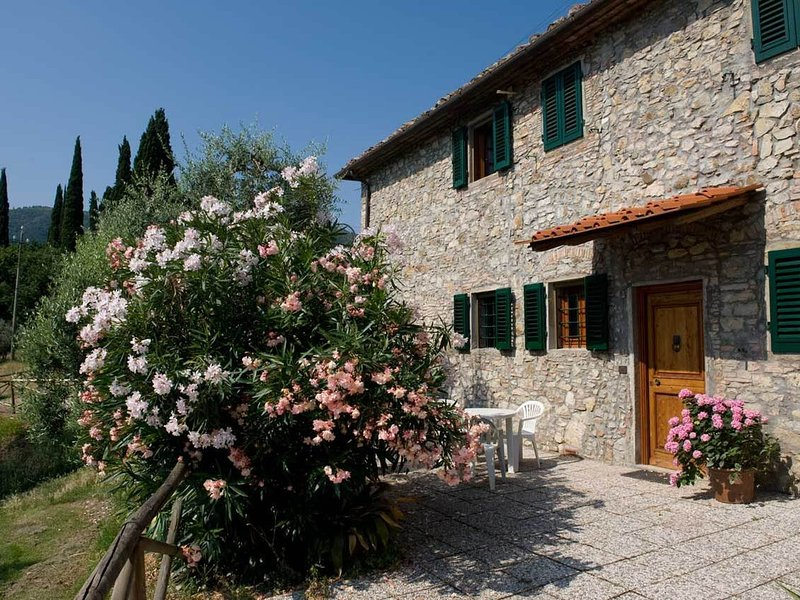 On the green hills in the Montalbano Area you can find my farm, vacation rental in Bacchereto