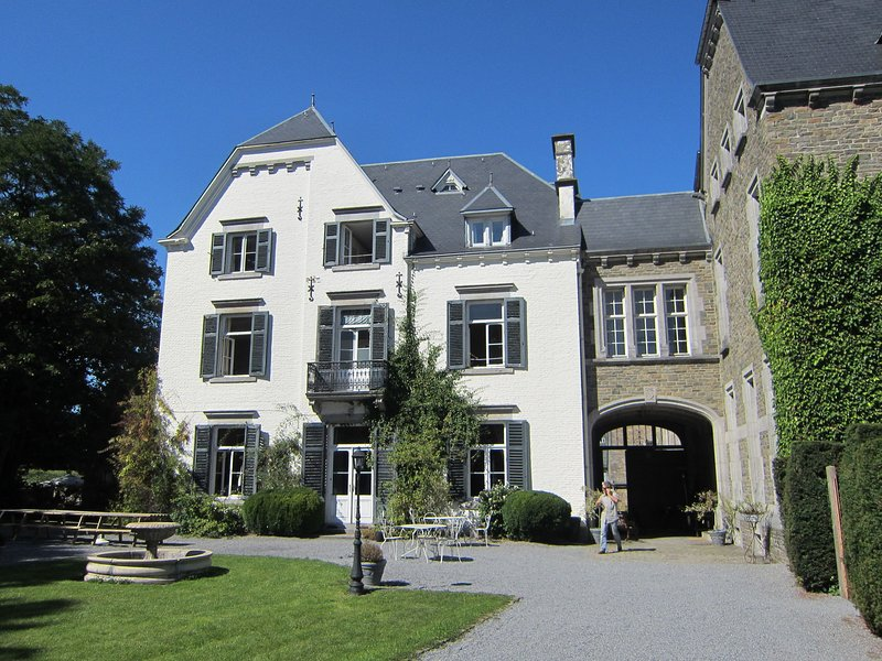 A beautiful castle in the valley of Aisne, holiday rental in Beffe