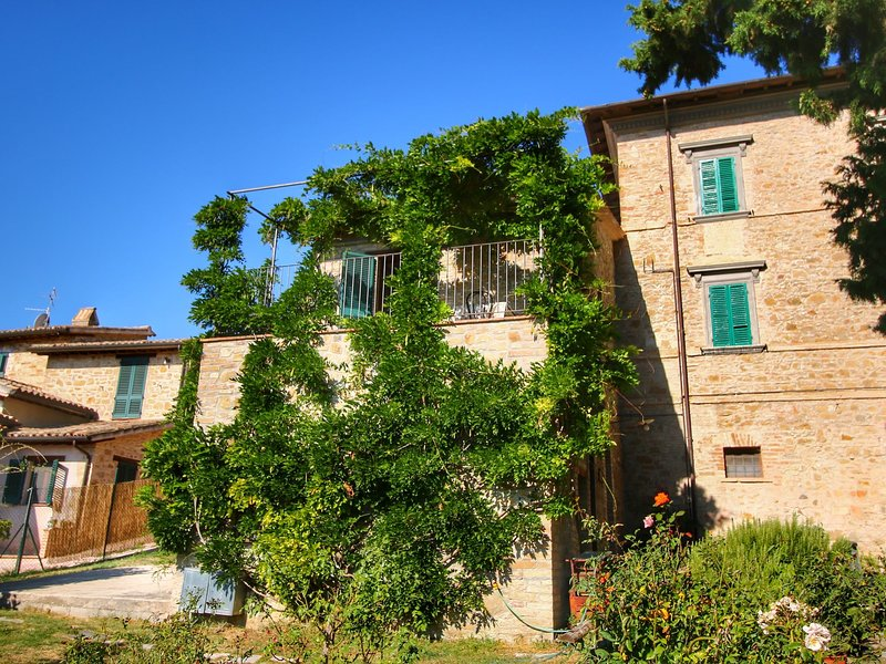 A lovely agri-tourism development set among the green hills., holiday rental in Macciano