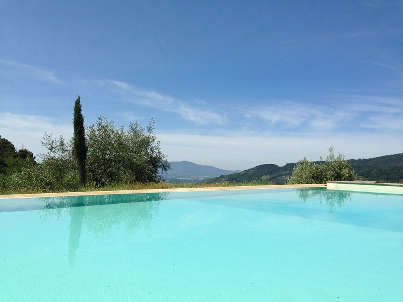 Modern Holiday Home in Pescia Tuscany with Swimming Pool, holiday rental in Malocchio