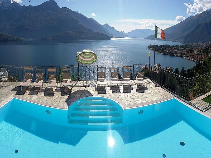 Spacious Apartment with Swimming Pool near Lake in Gravedona, holiday rental in Gravedona ed Uniti