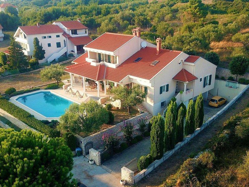 Striking Villa In Kozino With Private Swimming Pool, vacation rental in Kozino