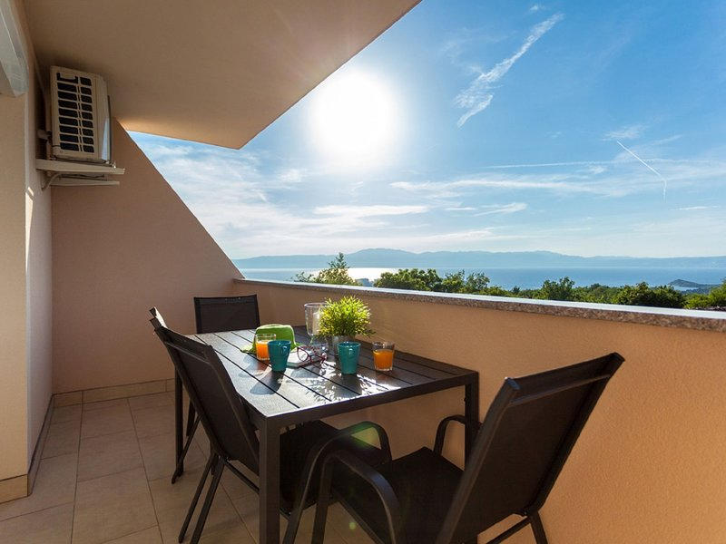 Contemporary Apartment in Omišalj near the Sea, holiday rental in Omisalj