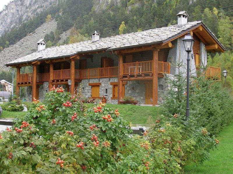 Chalet-village situated in a quiet area, location de vacances à Chamois