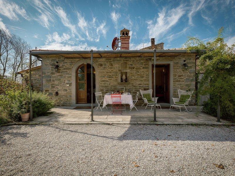 Stunning Villa in Cortona with Swimming Pool, Ferienwohnung in Camucia