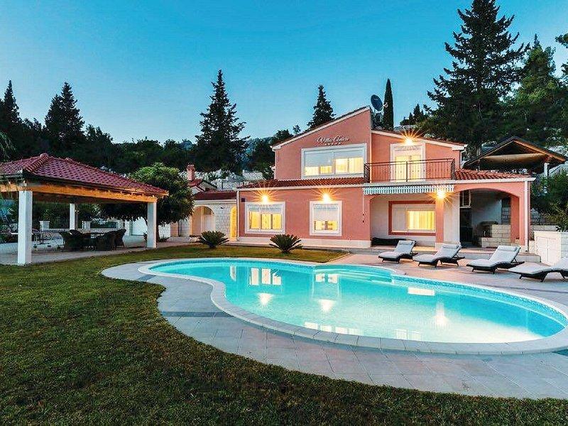 Beautiful Villa in Peracko Blato with Private Pool, holiday rental in Kobiljaca
