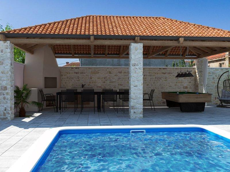 Luxurious Villa in Zaton Dalmatia, Croatia, aluguéis de temporada em Zaton