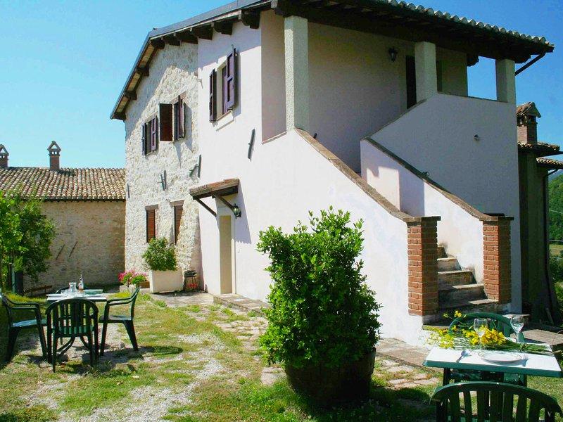 Peaceful Holiday Home in Sellano with private pool and garden, alquiler de vacaciones en Borgo Cerreto