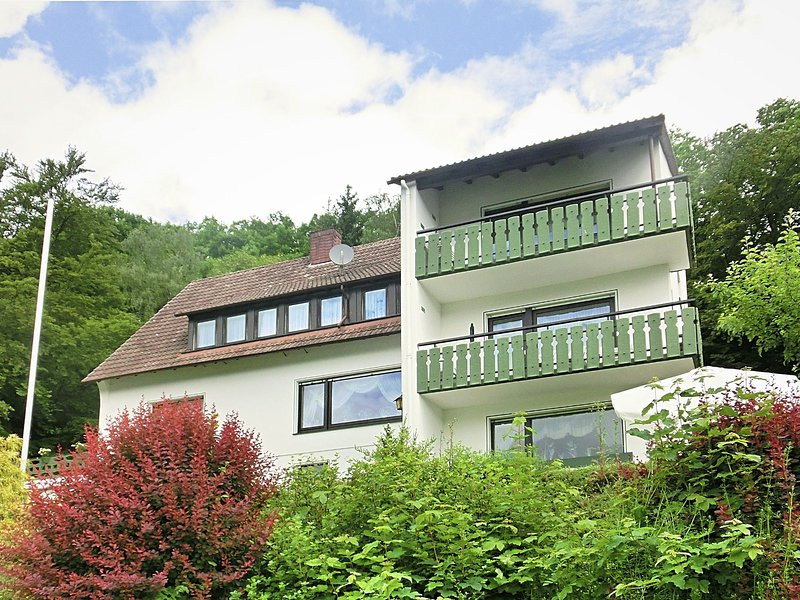 Large holiday apartment near Willingen with private garden and terrace, casa vacanza a Kustelberg