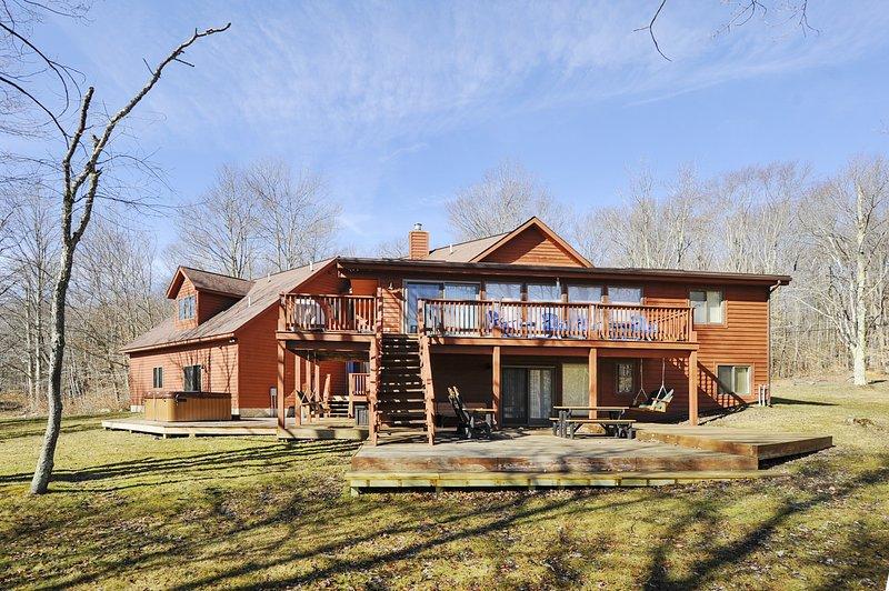 Costruzione, cabina, casa, casetta, cottage