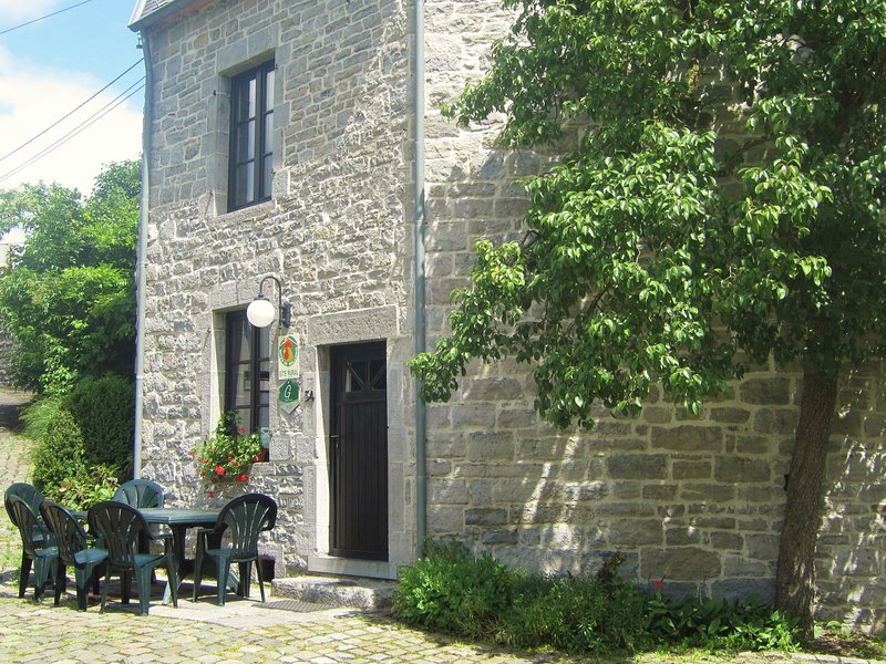 Charming accommodation with garden located along the river The Viroin., vacation rental in Vireux-Wallerand