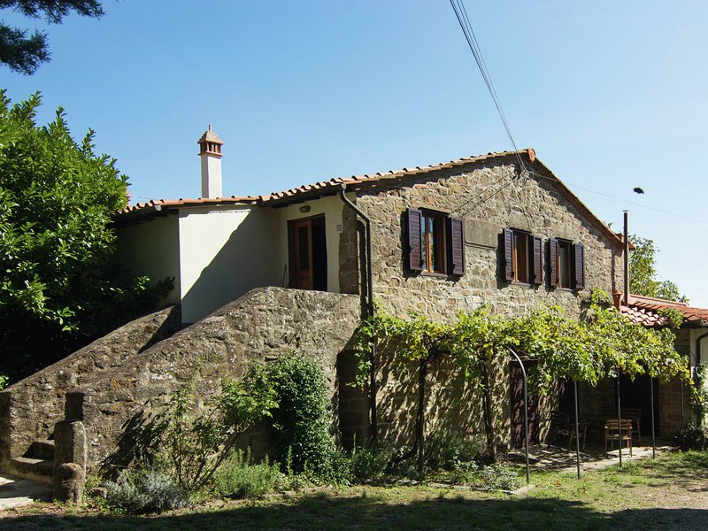 Lovely estate not far from Florence, on a hill with olives trees and cypresses., location de vacances à Lagaccioni