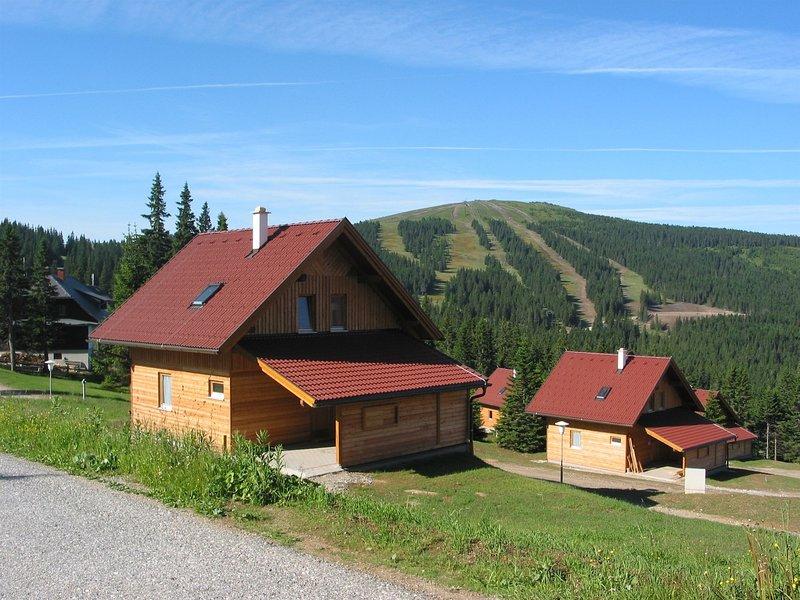 Luxury Chalet in Weinebene with Sauna, alquiler vacacional en Kliening