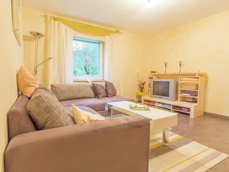 Beautiful luxury holiday flat with infrared sauna in the Eifel., vacation rental in Orlenbach