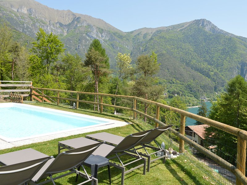 Holiday Home in Molina di Ledro with Pool, vacation rental in Tiarno di Sopra