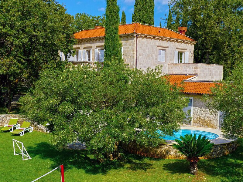 Exclusive Villa with private pool, huge fenced property near Dubrovnik, holiday rental in Mocici