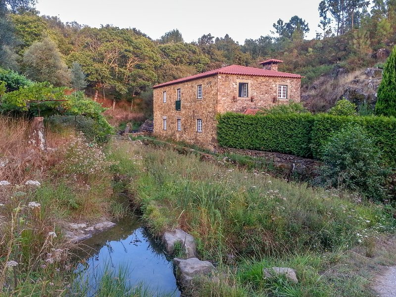 Detached house (formerly a mill) with swimming pool in an idyllic location, holiday rental in Correlha