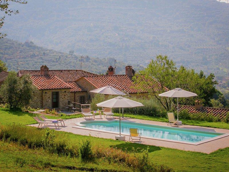 Fancy Villa in Cortona with Swimming Pool, holiday rental in San Pietro a Cegliolo