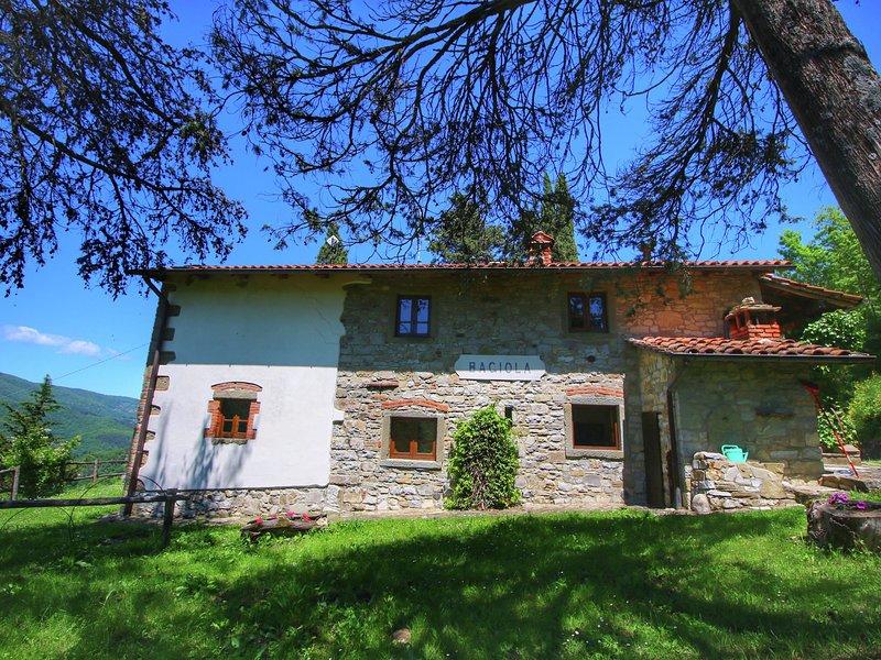 Lavish Farmhouse in Ortignano Italy with Swimming Pool, holiday rental in Quota