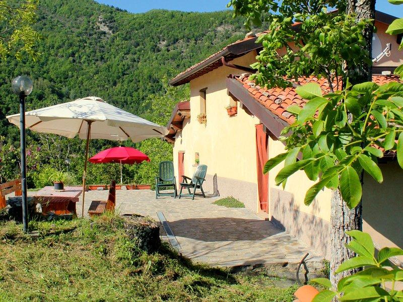 Splendid Cottage in Vergemoli Amidst Hills, holiday rental in Vergemoli