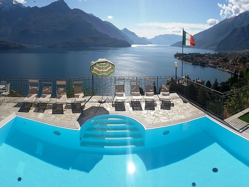 Lovely house with amazing views and panoramic swimmingpool, holiday rental in Gravedona ed Uniti