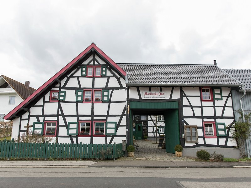 Vintage Apartment in Morsbach with a Terrace, holiday rental in Nideggen