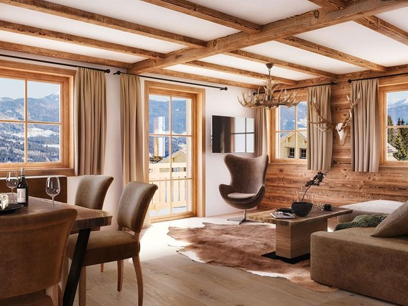 Ski In Ski Out chalet by the piste in beautiful Lungau, holiday rental in Lessach