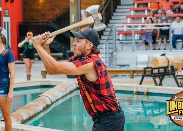 Free Adult Admission to Paula Deen's Lumberjack Feud Show
