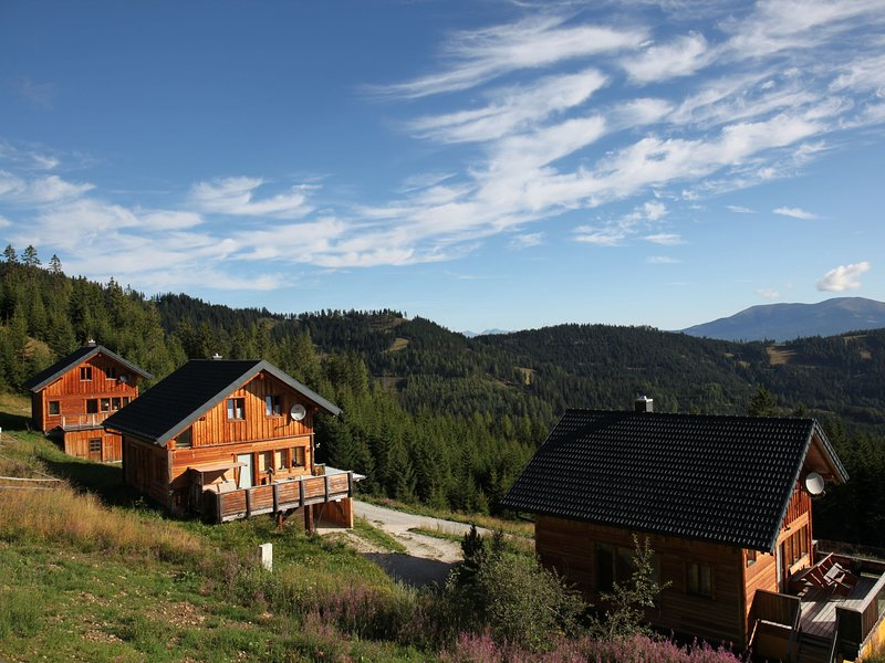 Exclusive wooden chalet in Wolfsberg with Sauna, aluguéis de temporada em Sankt Stefan