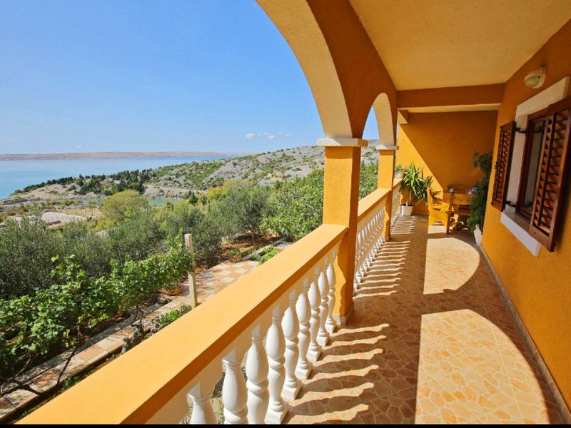 Boutique Apartment in Tribanj with Terrace, vacation rental in Tribanj