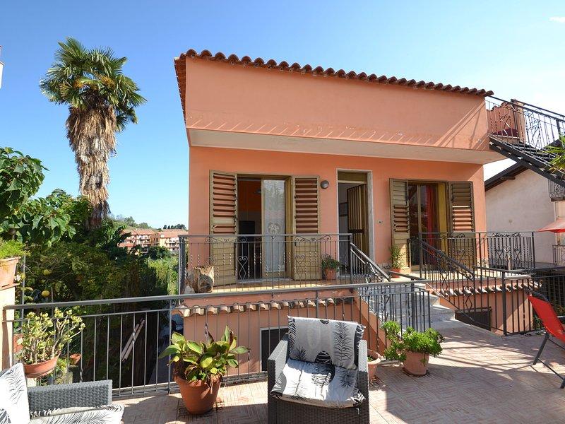 Lovely Holiday Home in Giardini Naxos near Sea, holiday rental in Trappitello