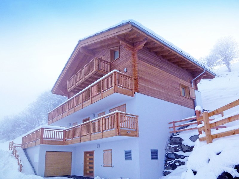 Super chalet built in 2013, holiday rental in Heremence