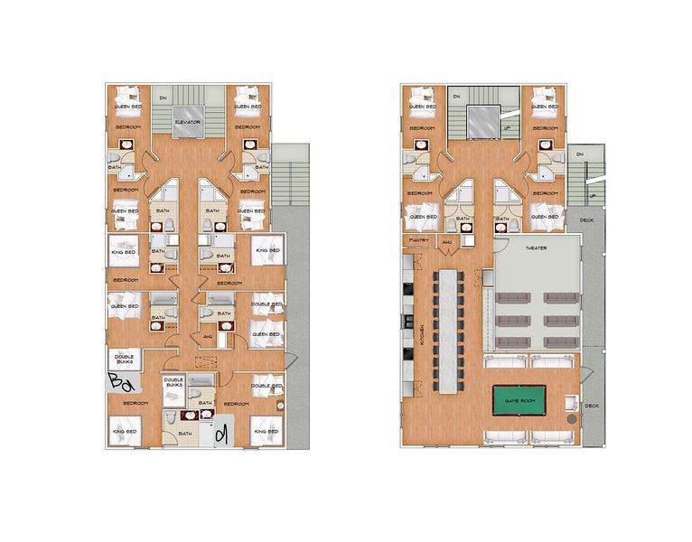 Together Resorts Cherry Grove Resort 1-floor plan