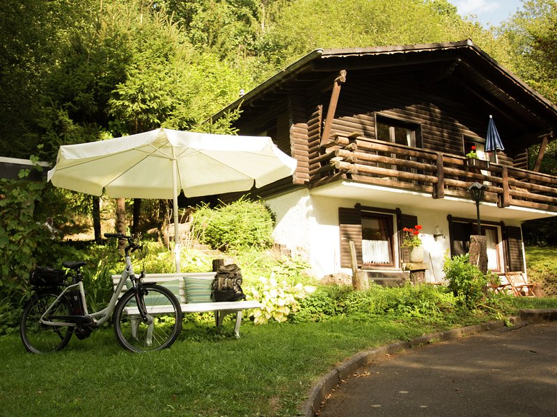 Tidy furnished apartment, located in a wooded area, vacation rental in Orlenbach