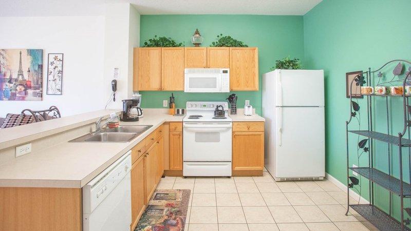 Interior, Habitación, Cocina, Refrigerador, Lavabo