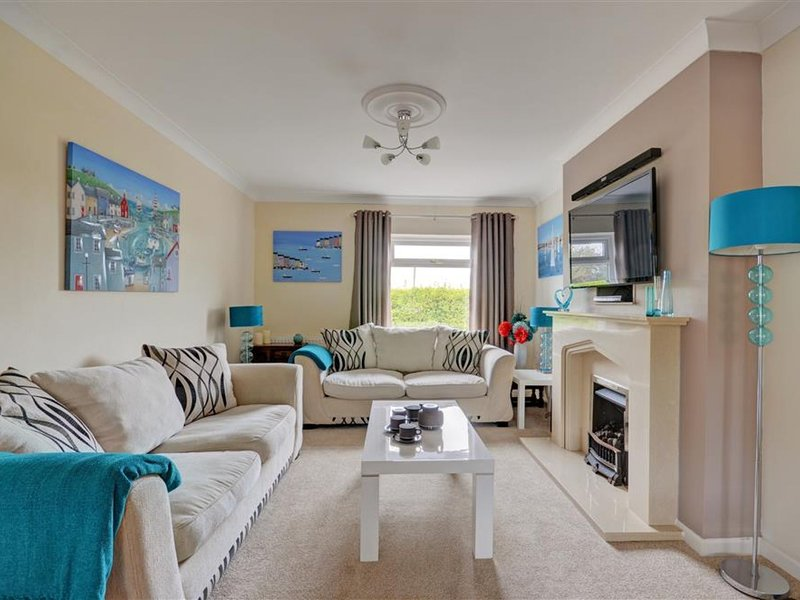 Detached holiday home with cosy interior, large garden and unique BBQ hut, holiday rental in High Street