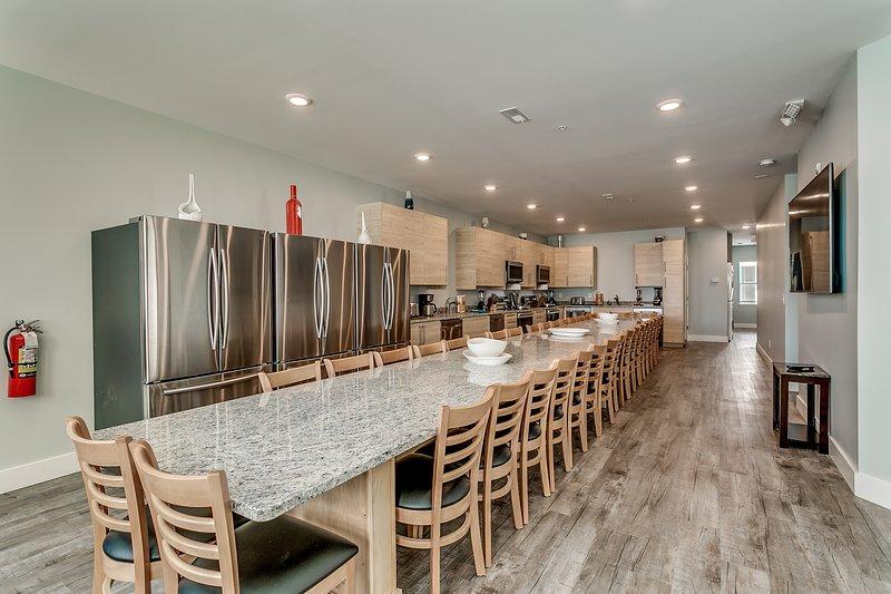 Together Resorts Cherry Grove Resort at 5401 B N Ocean Blvd-Huge Pro Kitchen