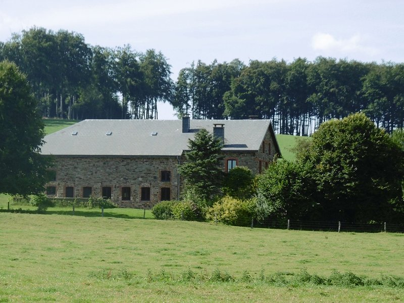 Quaint Holiday Home with Sauna in Gouvy Belgium, holiday rental in Commanster